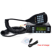 136-174/400-480MHz Car Two Way Radio 2.5K 5/10/25W Selectable FM Transceiver