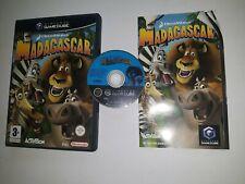 * Nintendo Gamecube Game * MADAGASCAR * Cube Wii