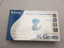 ✅ D-Link DSB-C110 VisualStream 30 FPS USB 1.1 StreamingPC Web Cam/Camera NIB