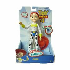 Toy Story True Talkers Jessie Figure with 15 Sounds & Phrases Disney NEW