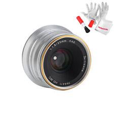 7artisans 25mm / f1.8 Manual Lens for Panasonic / Olympus M4/3 Mount Cameras