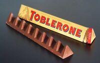 2 x Toblerone Original With Honey & Almond Nougat Milk Chocolate Bar 100g.
