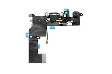 iPhone 5s Ladebuchse Dock Connector Charging Port Audio Jack Flex Kabel schwarz