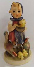 """Goebel M.I. Hummel 199 Feeding Time 5"""" Figurine TMK-2"""