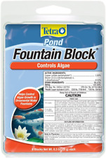 Tetra Fountain Block 6 Count, Controls Algae Growth In Ornamental Fountains