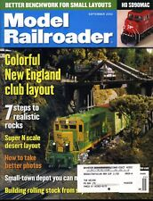 Model Railroader Magazine September 2002 Colorful New England club layout