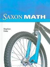 Saxon Math, Intermediate, Grade 3, Stephen Hake, Good Book