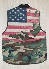 Ralph Lauren Denim & Supply Light Vest Camo American Flag