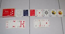 Carte Poker VIASSONE PROMO Ditta Bura 1967-1985 -108 playing cards Superplastic