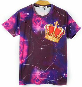 Tie dye Crown T-shirt [graffiti fresh dope unique night sky hipster different]