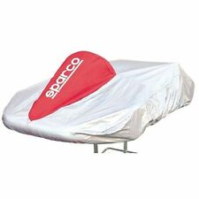Sparco 02712R Kart Cover Silver/Red