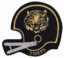 "MISSOURI TIGERS NCAA COLLEGE VINTAGE 3.25"" FOOTBALL HELMET LOGO PATCH"