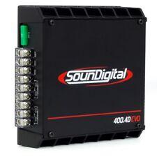 Amplificatore SounDigital SD400.4D Evo 4 Canali  400 Watt rms dimensioni ridotte