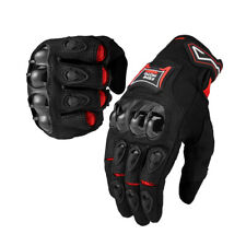 Paar Motorradhandschuhe Summer Motorrad Handschuhe Sport Fahrrad Touch Screen