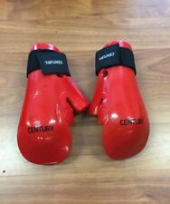 Century Martial Arts Student Hook and Loop Sparring Gloves - Red Youth