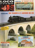 LOCO REVUE N°677 decembre 2003 un viaduc a 3 arches en HO