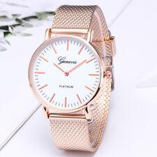 Fashion Women's Ladies Casual Quartz Wrist Watch Mesh Strap Band Wristwatch Gift