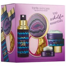 TARTE Top Essentials Skincare SET - HydroBoost+Eye Balm+Multi-Mask+Setting Mist