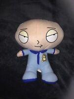 "Family Guy Nanco Baby Stewie Griffin 13"" Plush In Pajamas 2008 Stuffed Toy EUC"