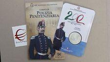 5 euro 2017 fdc ITALIA Italie Italy Italien 200 Corpo Polizia Penitenziaria 8000