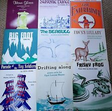 CUTE Huge EASY 98 Lot Sheet Music Solos, Songs, Classic Theatre, Movies, Duets !