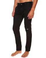 DICKIES Skinny Straight Double Knee Pant BLACK Work Pants New WP811 FREE POST