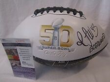 T.J. Ward Denver Broncos Autographed SB 50 Football w BOSS WARD Insc. - JSA 637c4603e