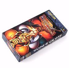 Knights Of The Round Reg Card Super Famicom Nintendo System Japan