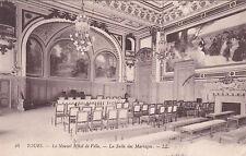 TOURS 48 LL le nouvel hôtel de ville la salle des mariages timbrée 1913