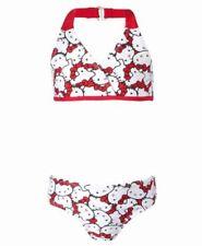 Hello Kitty Halter Bikini Swimsuit  Size 10/12 NWT Girls