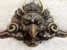 Garuda Mask Tibetan Buddhist Bronze Handcrafted from Nepal Very Detailed Small