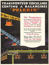 Transporteur circulaire PELLERIN, Excavateur, Trainage. Prospectus vers 1930