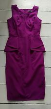 PRIMARK ATMOSPHERE WOMENS BEAUTIFUL FLATTERING PEPLUM BODYCON STYLE DRESS  10