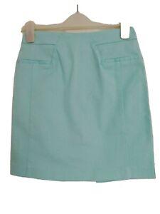 H&M blue knee length skirt
