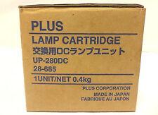 New New Plus Lamp Cartridge UP-280DC + 1 used lamp, Knoll,NEC ,Proxima, Runco