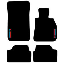 Tailored Carpet Car Floor Mats FOR BMW 1 Series E87 Hatchback 03-2012 with logo
