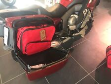 PANNIER LINER BAGS INNER BAGS TO FIT BMW K1600GT&GTL IN RED COLOUR
