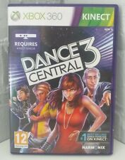 DANCE CENTRAL 3 - XBOX 360 KINECT GAME COMPLETE VGC