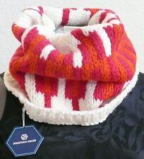 Jonathan Adler Neck Warmer Cowl Scarf Chevron Knit Multi-Color Acrylic Wool NWT