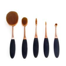 New Profi 5pcs Toothbrush Makeup Brushes Set Oval Cream Puff Brush Blush tools