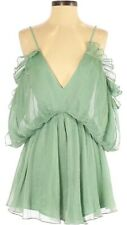 Green Pleated playsuit / Romper