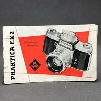 PRAKTICA FX2, Bedienungs-Anleitung, Original Instruction Book, Manual,User Guide