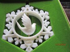 Dove Twirl-about Snowflake Tree Trimmer 1978 Hallmark Ornament