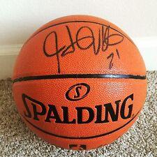 Hassan Whiteside Signed Autograph Official NBA Replica Basketball Heat PROOF NBA