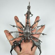 Robot Insect Scorpion 3D Steel Metal Finished Diy Joint Mobility Miniature