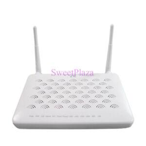 ZTE ZXHN F660 GPON ONT of 4GE LAN 2Tel ports 5DBI antennas WIFI,SC/APC input