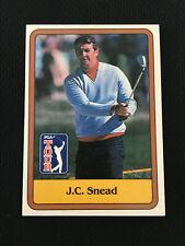 JC SNEAD ROOKIE 1981 DONRUSS PGA GOLF TRADING RC CARD