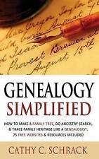 Genealogy Simplified - How to Make a Family Tree, Do Ancestry Search, & Trace Fa