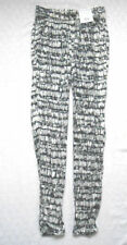 Topshop Polyester Loose Fit Mid Rise Trousers for Women