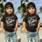 Toddler Kids Baby Boy Cotton Tee Tops Casual Cotton Summer T-shirt Blouse Shirt